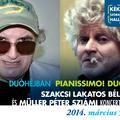 PIANISSIMO! Duó - Müller Péter Sziámi és Szakcsi Lakatos Béla koncertje