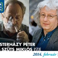 Esterházy Péter és Szüts Miklós, egy író és egy festő...