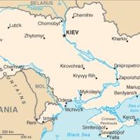 Ukrajna helye Európában