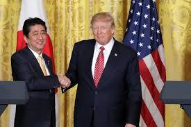 """Képtalálat a következőre: """"abe shinzo trump"""""""