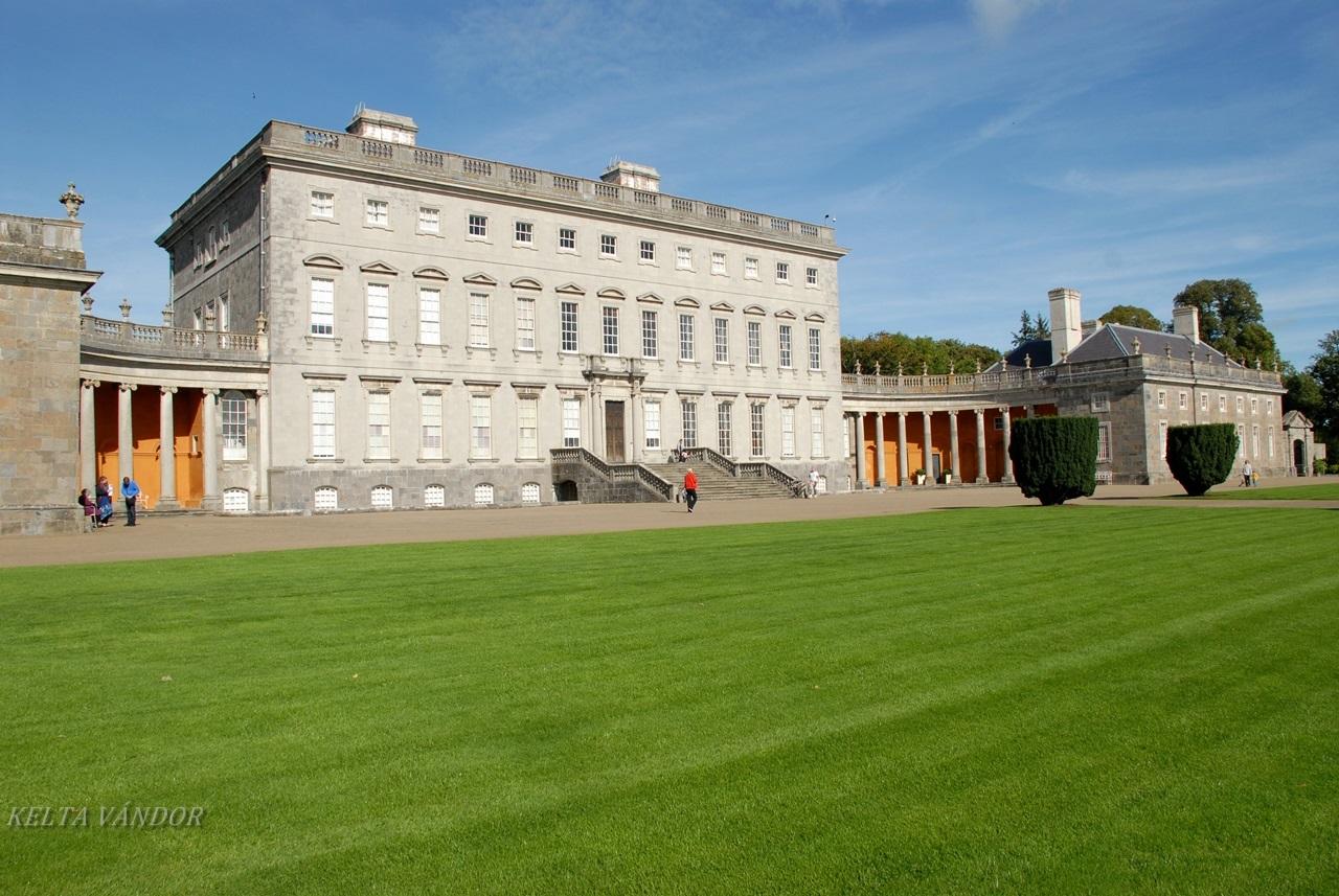 Írország: A Castletown- ház, amely a legenda szerint a Fehér Ház kialakítását is ihlette