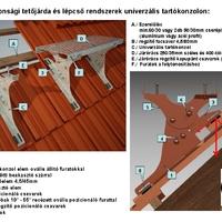 Lakiter Európa Kft  tetőjárdájának cserépfedéshez beépítési utmutató!