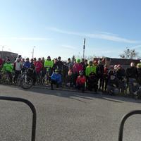 Szilveszteri kerékpáros felvonulás