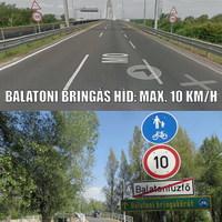 Autópálya vs. kerékpárút