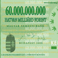 A 60 milliárdos bankjegy