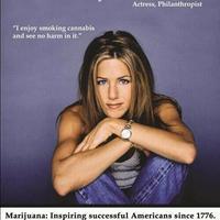 Jennifer Aniston népszerűsíti a gandzsát