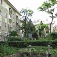 Az egykori Juranics, ma Stróbl Alajos utcai lakótelep a VIII. kerületben