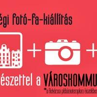Városom közösségi fotó-fa-kiállítás