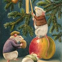 Karácsonyi üdvözlet a régi időkből