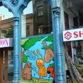 Igazi street art a Király utcában