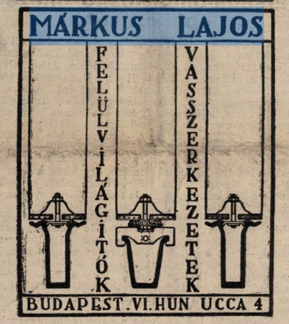 Forrás: Arcanum/A Munkaadó, 1929