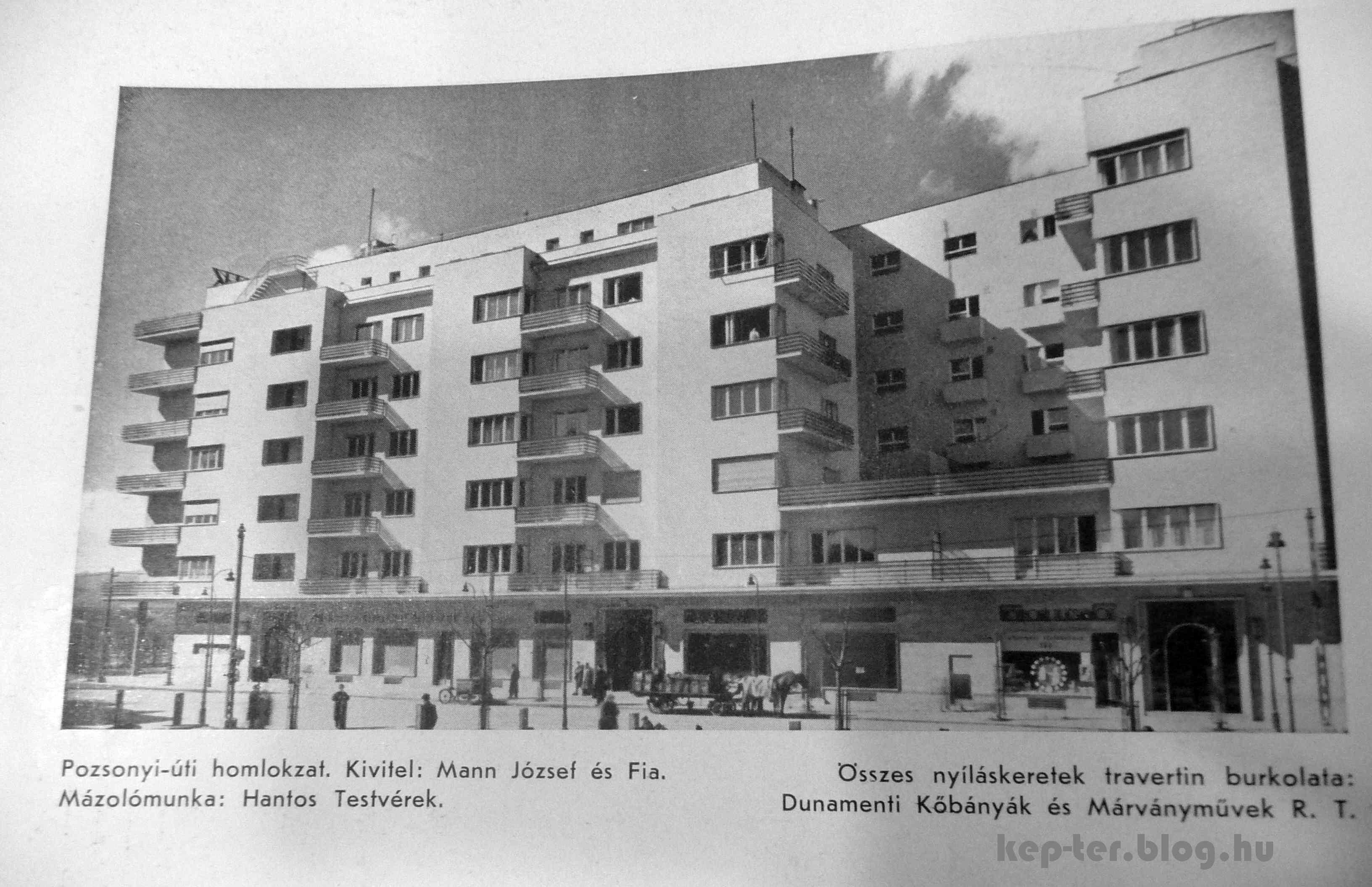 Forrás: TÉR ÉS FORMA, 1937.