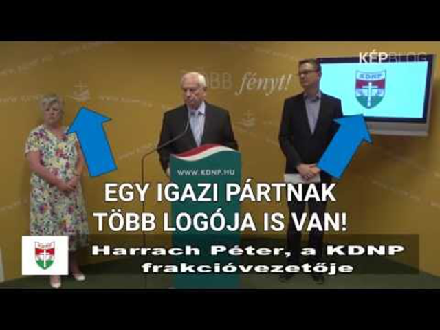 Harrach Péter und KDNP Újraértelmezve
