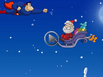 karácsonyi flash képeslap