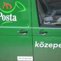 A posta közepe