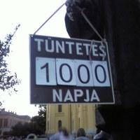Tüntetés 1000. napja