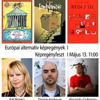 A 14. Budapesti Nemzetközi Képregényfesztivál színpadi programja