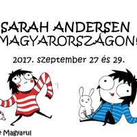 2017. 09. 27. és 29. - Sarah Andersen Budapesten