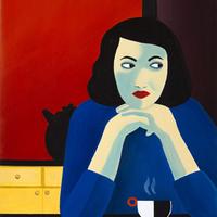 Kiállítás Párizsban Marjane Satrapi festményeiből