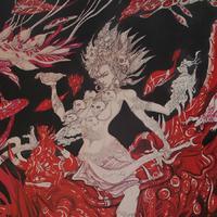 Abhishék Szingh képregényrajzoló a Hopp Ferenc Ázsiai Művészeti Múzeumban