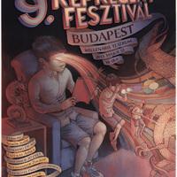 9. Budapesti Nemzetközi Képregényfesztivál, 2013. május 12 - plakát