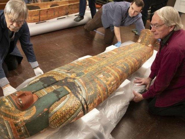 Különös titok egy egyiptomi szarkofág belsejében