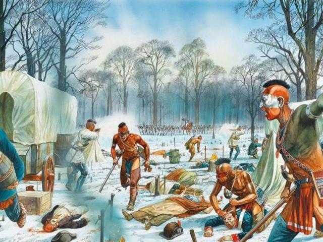 Az észak-amerikai indiánok alkonya