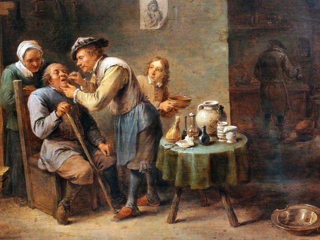 Fogápolás a történelem évezredeiben