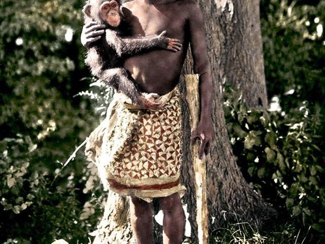 Ota Benga, az állatkertben mutogatott férfi