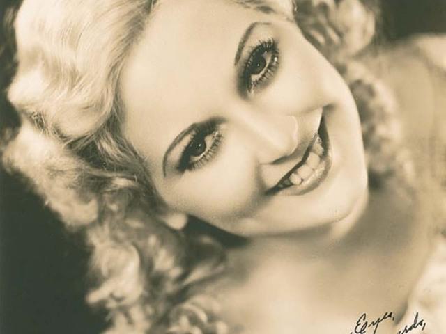 Thelma Todd, a szőke szépség