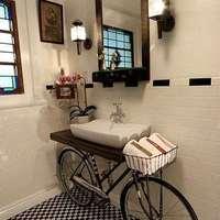 Kétkerekű mosdó