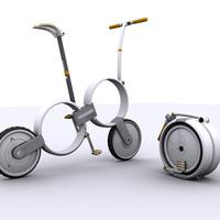 21. századi bicikliszobor