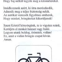 Kerékpárosok imája