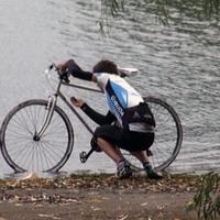 Tour de Tiszató vizes nyereggel