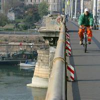 A felújítás után rosszabb lesz a Margit hídon biciklizni