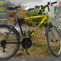 Biciklit loptak a rendőrpalota elől