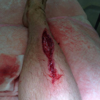 Profi versenyző, futam után zakózott