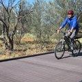 Újrahasznosított tintapatronból építettek biciklis hidat