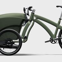 Sikkes tricikli lekapcsolható kerékkel