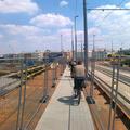 Libasorban megy a bringázás a Margit hídon