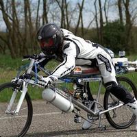 263 kilométer per óra kerékpáron