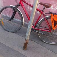 Bejáratott biciklilopó helyek a belvárosban