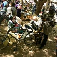 Egy varrógép és egy bicikli találkozása a piacon