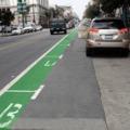 Mennyi hely marad a bicikliúton ajtónyitás után?
