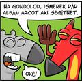 Tartozás ellen albánok
