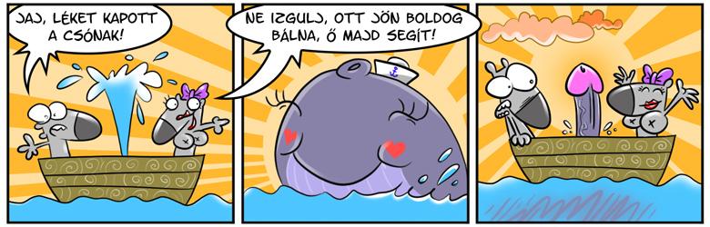 Boldog bálna
