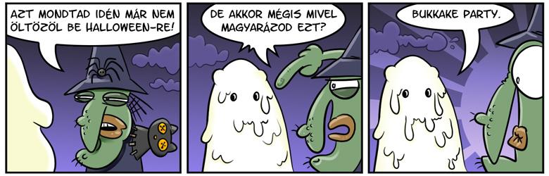 Nem a Halloween szelleme