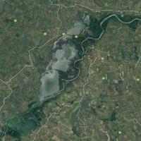 Biciklivel a Tisza tó körül