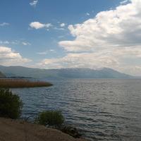 Strugától és Ohridig a tó partján