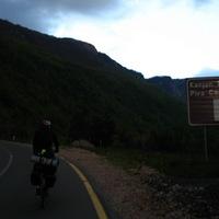 Éjszakai tekerés a Piva kanyonban